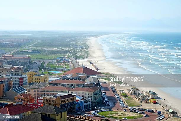 mossel bay coastline - mossel bay stock pictures, royalty-free photos & images