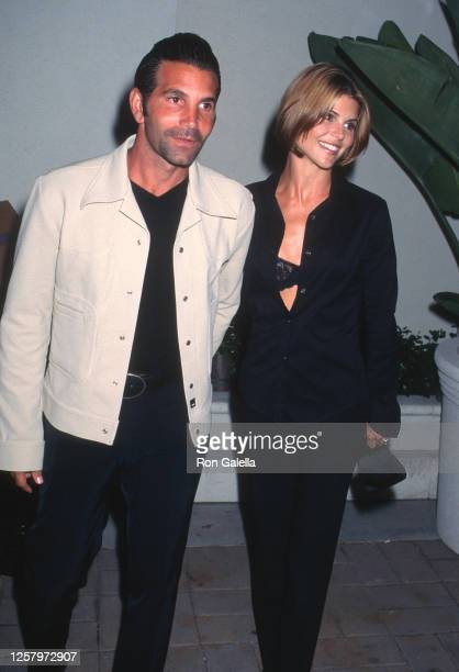 Mossimo Giannulli and Lori Loughlin attend Janet Jackson Virgin Records Party at Sony Pictures Studios in Culver City, California on September 9,...