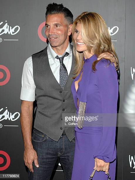 Mossimo Giannulli and Lori Loughlin during Target Hosts LA Fashion Week Party for Designer Mossimo Giannulli at Area in Los Angeles California United...