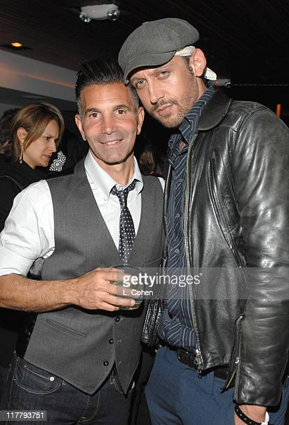 Mossimo Giannulli and Santino Rice during Target Hosts LA Fashion Week Party for Designer Mossimo Giannulli Inside at Area in West Hollywood...