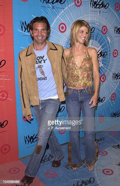 Mossimo Giannulli Lori Loughlin during Mossimo's New Collection Celebration at Moomba in West Hollywood California United States