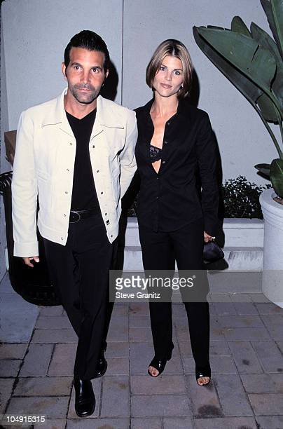 Mossimo Giannulli wife Lori Loughlin during Album Release Party for Janet Jackson's The Velvet Rope at Sony Pictures Studios in Culver City...