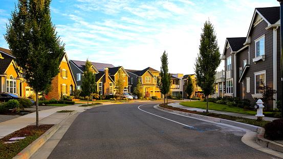 Most beautiful neighborhood street 1087256254