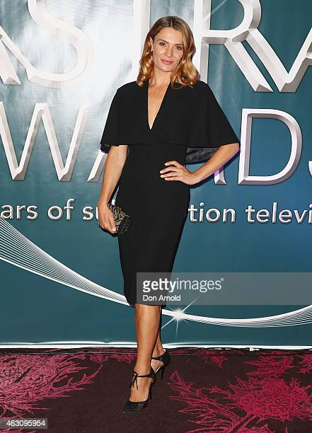 Most Outstanding ActorFemale nominee Danielle Cormack poses at the 2015 ASTRA Awards Nominations Photo Call at The Star on February 10 2015 in Sydney...