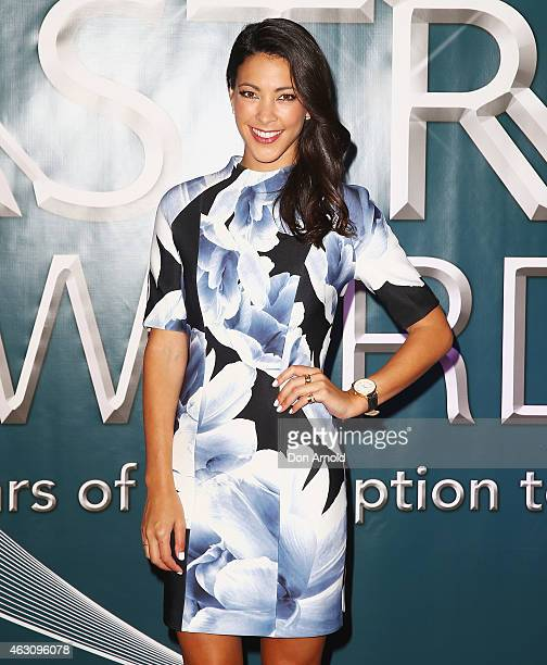 Most Outstanding PresenterFemale nominee Tara Rushton poses at the 2015 ASTRA Awards Nominations Photo Call at The Star on February 10 2015 in Sydney...