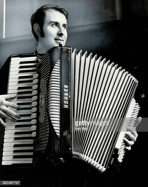 Most people associate the accordion as something Uncle Joe plays at a wedding Young Joseph Macerollo wants to change that image and he's succeeding