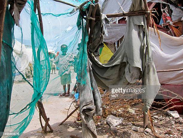 Most Somalis who fled war and famine to Mogadishu the capital live in scrap huts made of sticks and plastic sheeting despite hundreds of milliions of...