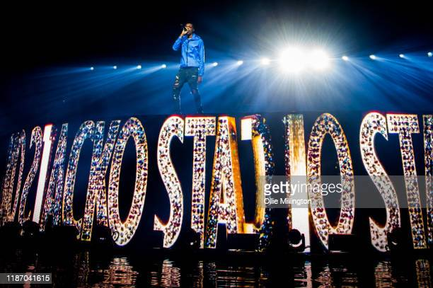 MoStack performs onstage at O2 Academy Brixton on November 11, 2019 in London, England.