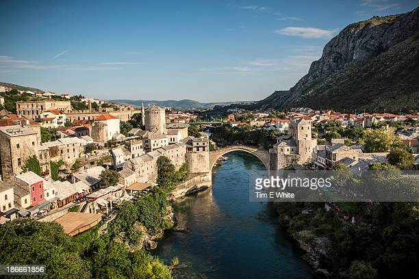 mostar, bosnia herzegovina - bosnia and hercegovina stock pictures, royalty-free photos & images