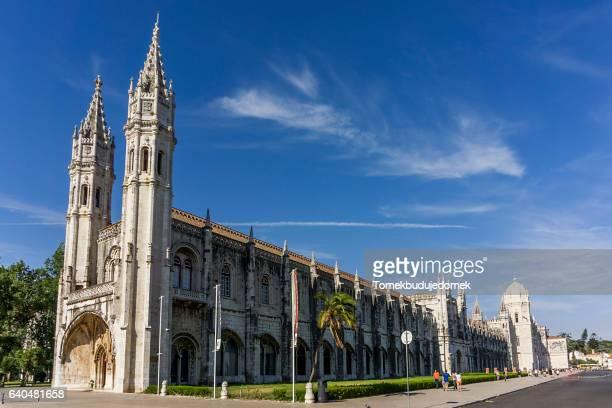 mosteiro dos jerónimos - monastery stock pictures, royalty-free photos & images