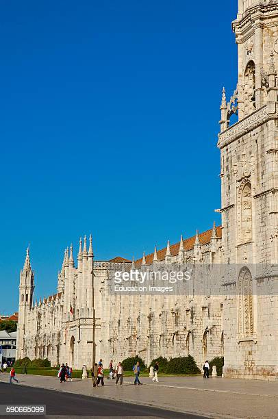 Mosteiro dos Jeronimos, Monastery of the Hieronymites, UNESCO World Heritage Site, Belem, Lisbon, Portugal.
