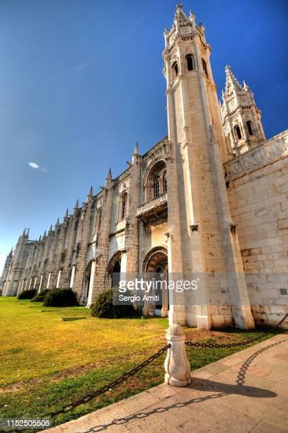 mosteiro dos jeronimos - abadia mosteiro - fotografias e filmes do acervo