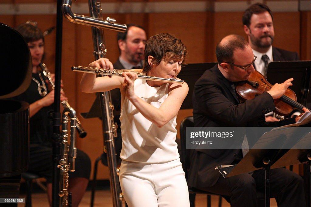 International Contemporary Ensemble: Five Premiere Concertos : News Photo