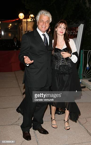 63 Mostra internazionale D'arte Cinematografica di Venezia Cena di gala sulla spiaggia del Hotel EXCELSIOR Michele Placido e compagna FEDERICA...