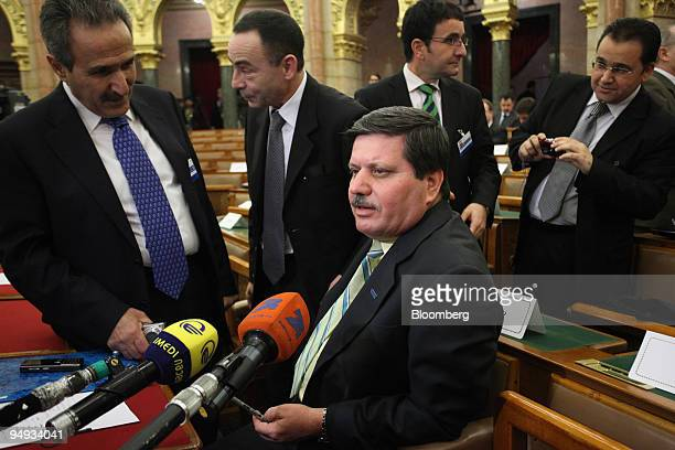 Motasam Akram Hassan Iraq's deputy oil minister speaks to the media after the Nabucco Gas Pipeline Conference in Budapest Hungary on Tuesday Jan 27...