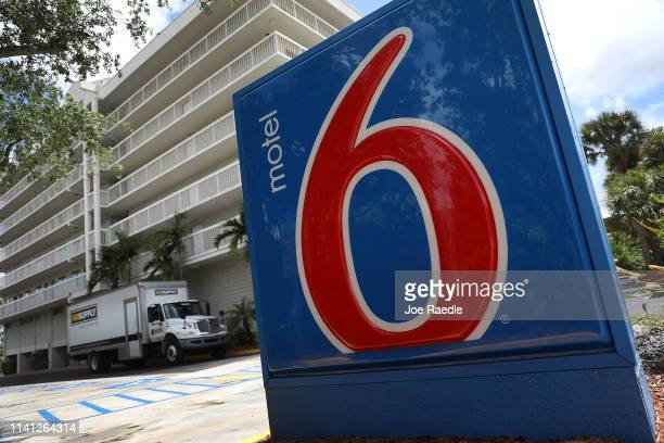 Motel 6 is seen on April 08 2019 in Cutler Bay United States Motel 6 has agreed to pay a $12 million settlement after the state of Washington sued...