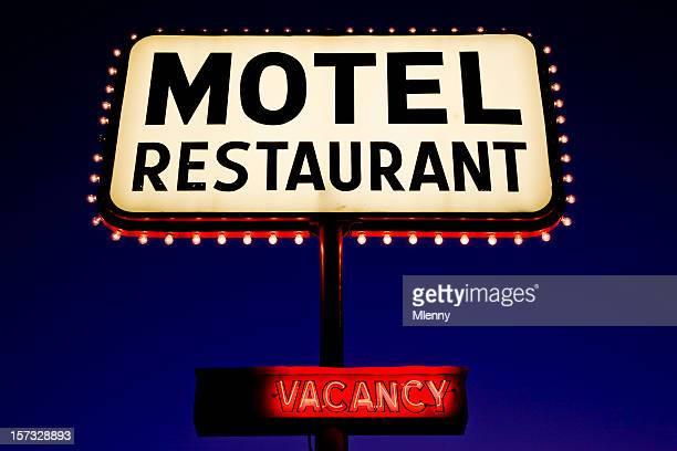 Señal de Motel publicidad