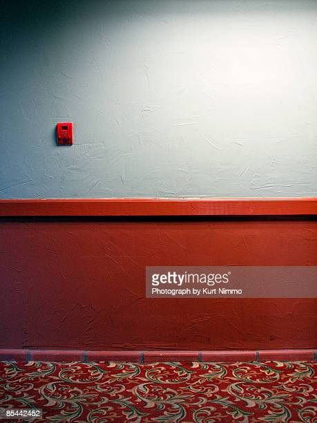 motel hallway - motel stock photos and pictures