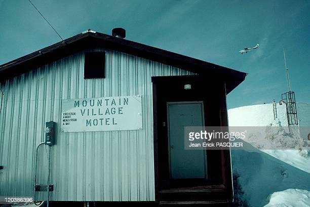 Motel in Alaska United States At a mountain village