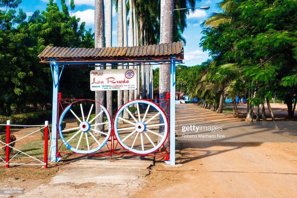 Motel \'La Rueda\' belonging to the Cuban MINCIN (Ministry of ...