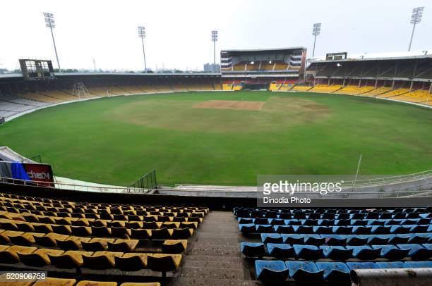 Motera Stadium of Gujarat Cricket Association, Ahmedabad, Gujarat, India, Asia
