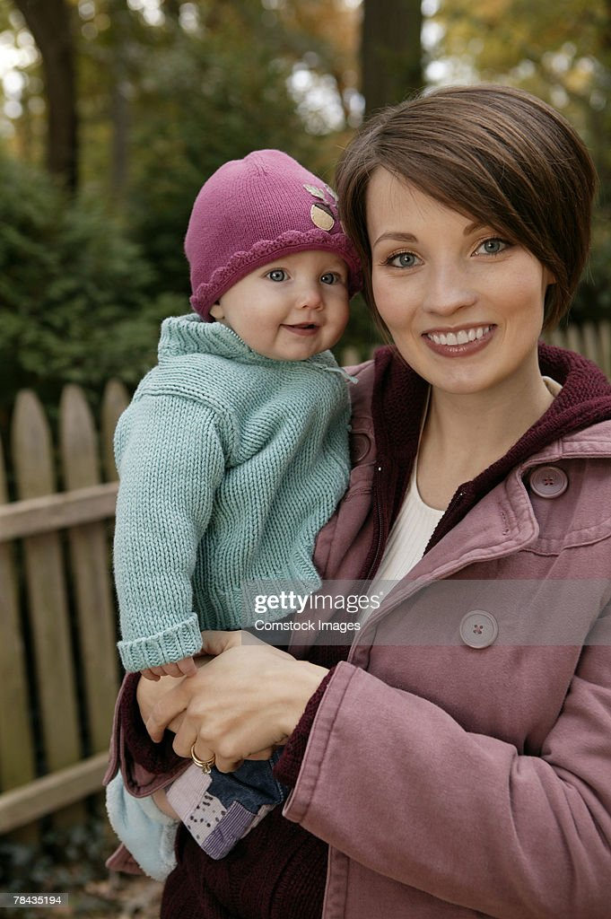 Mother and baby : Stockfoto