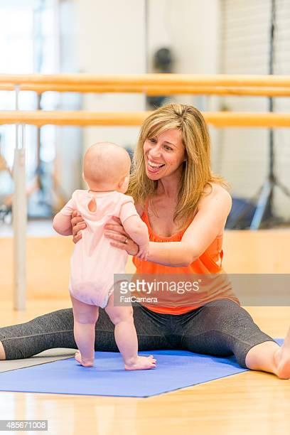 Mère et bébé cours de Yoga
