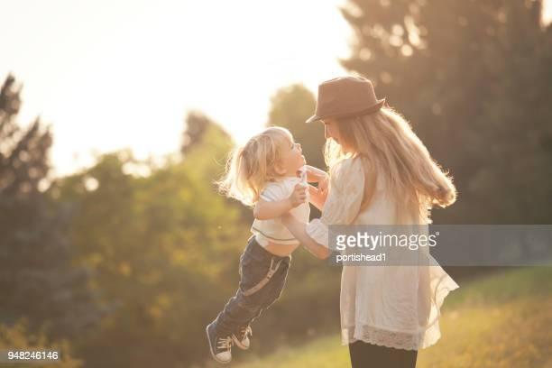 Mutter und Kind Spaß