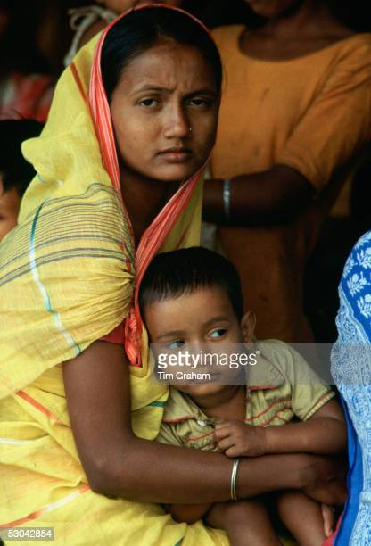 A mother and child in Bangladesh
