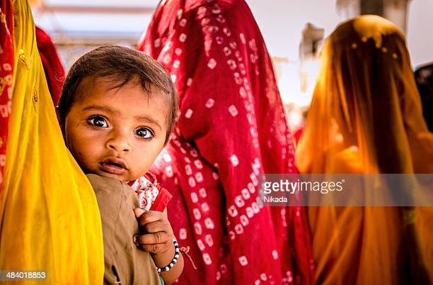 mother and child, India