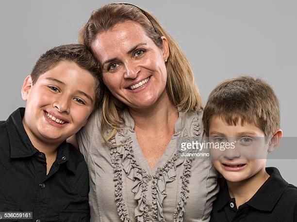 Mutter und Kinder