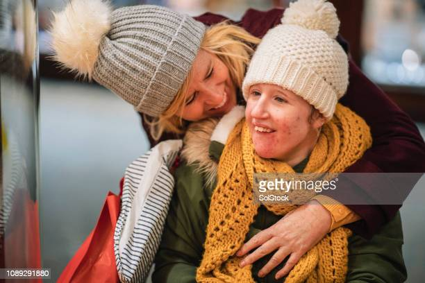 mother and daughter bonding - learning disability stock pictures, royalty-free photos & images