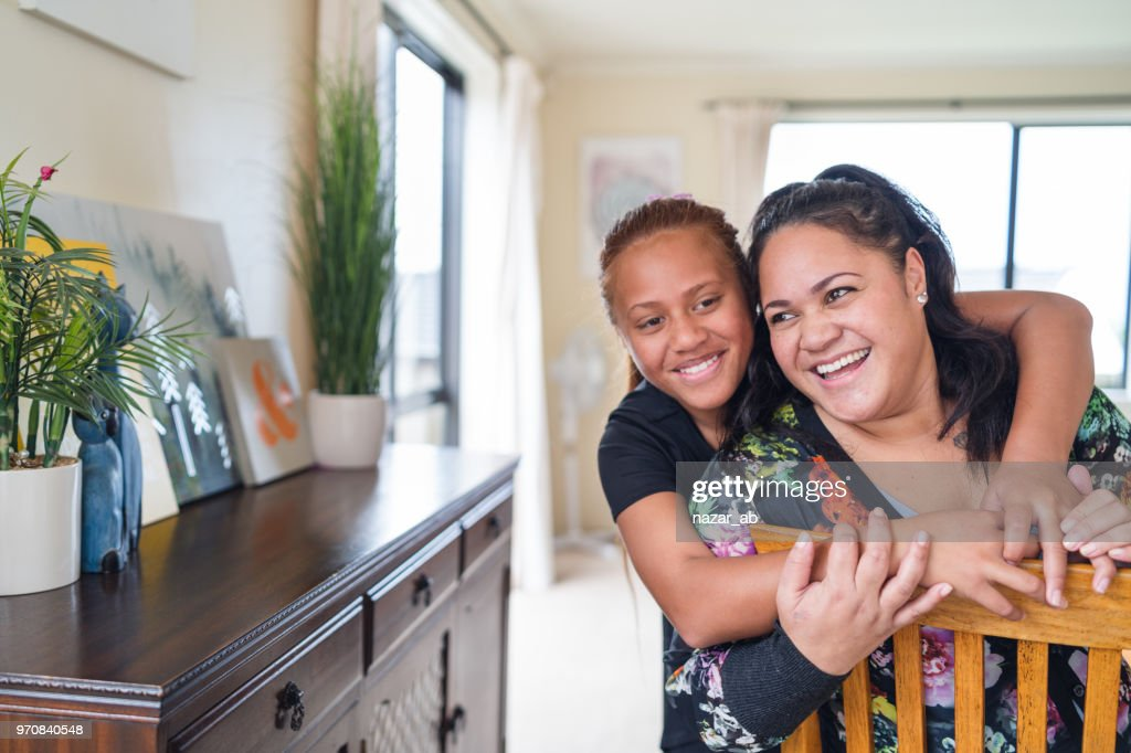 Mother and daughter bonding. : Stock Photo