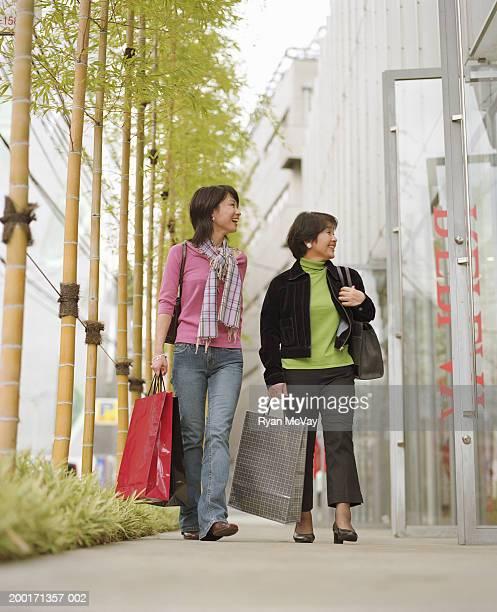 母と娘用ショッピングバッグ、望む storefr