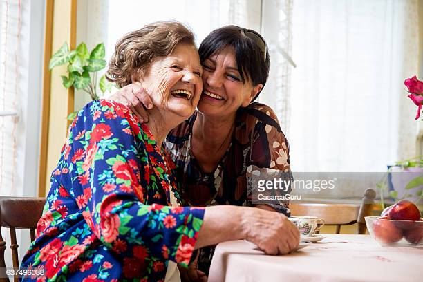 Mother and Daughter Enjoying Their Time Together