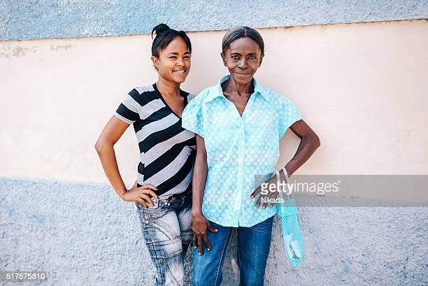 Mère et fille de Cuba