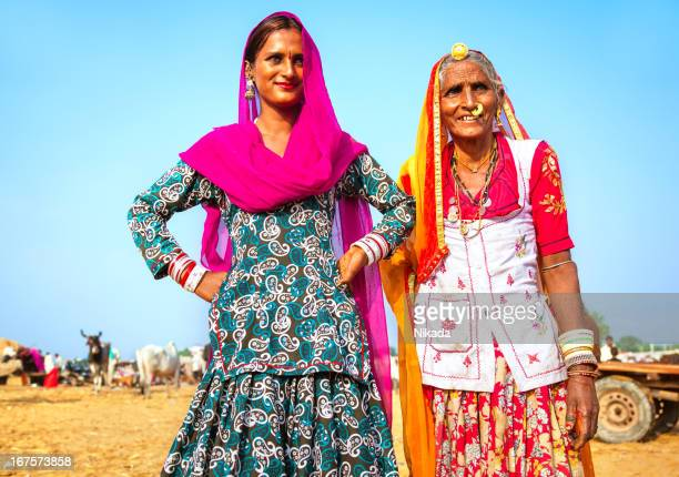 Mother and Daughter in India