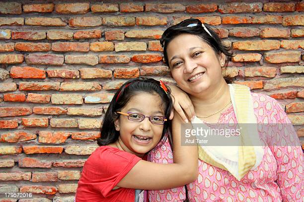 mother and daughter - punjab india stock pictures, royalty-free photos & images