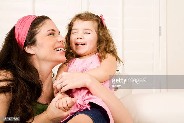 mother and daughter - niece stock photos and pictures