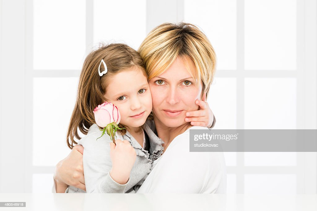 Mother and daughter. : Stock Photo