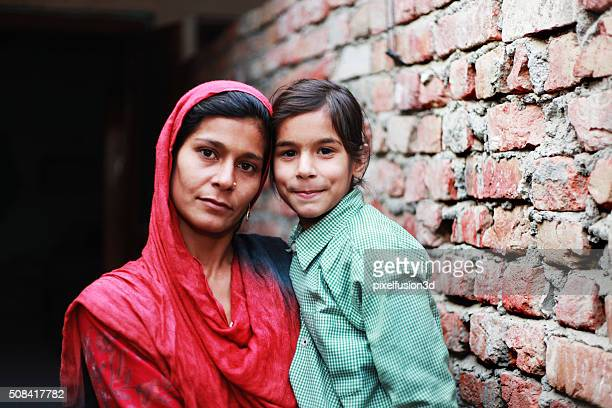 mother and daughter - south asia stock pictures, royalty-free photos & images