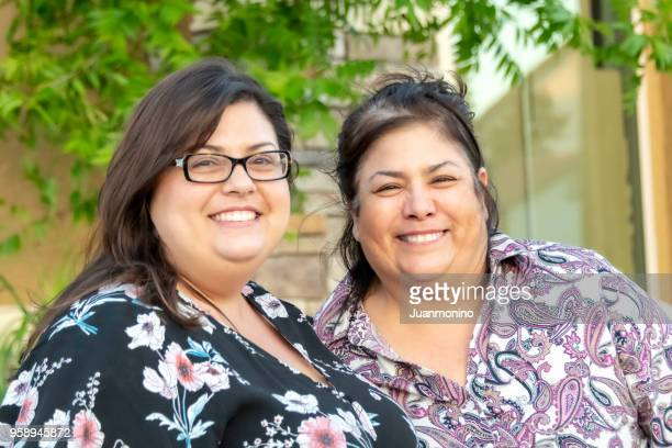mother and daughter - mexican mothers day stock photos and pictures