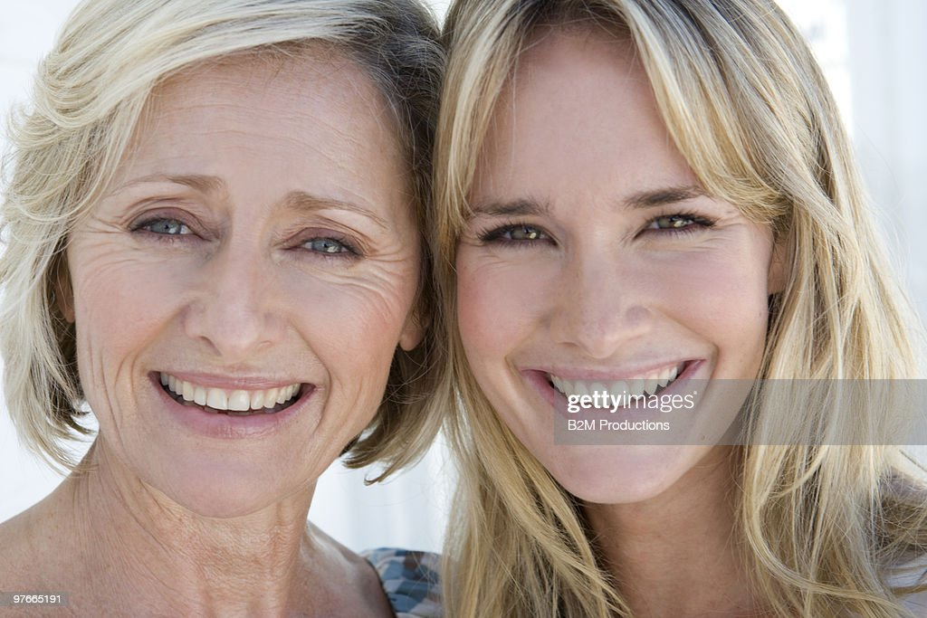 Mother and daughter, portrait : Stock Photo