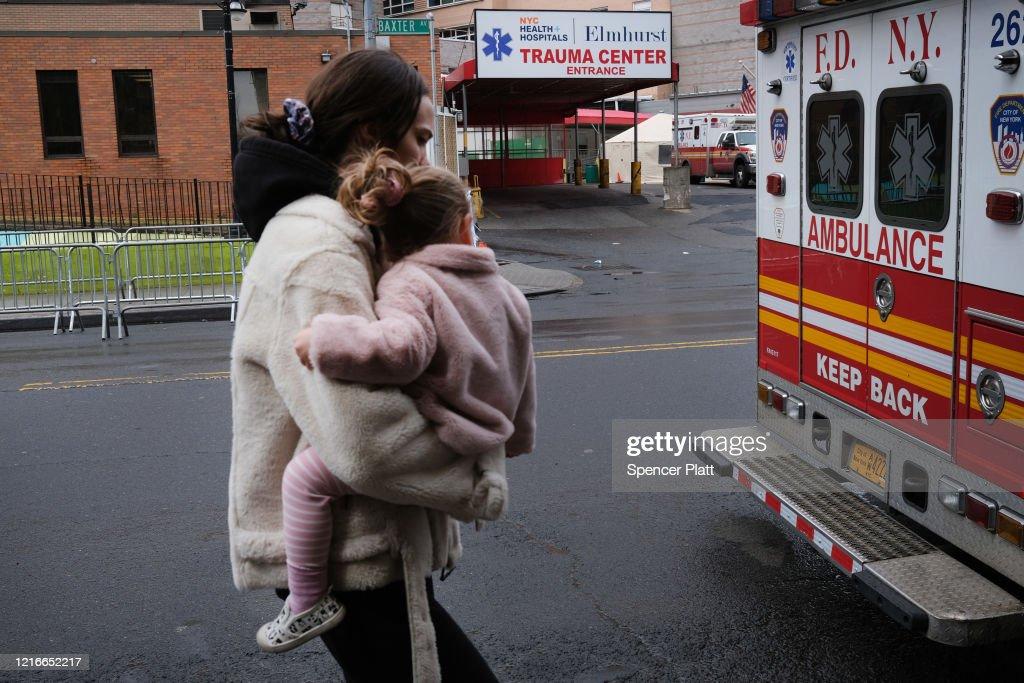 Neighborhoods In Queens Have New York City's Highest Coronavirus Infection Rates : News Photo