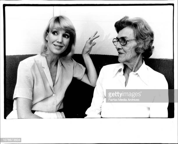 Mother and daughter's attitude to lifeAnnette Andre and her mother Clare Andreallo April 23 1981