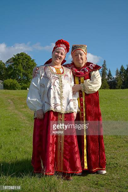 mother and doughter - eastern european descent stock pictures, royalty-free photos & images