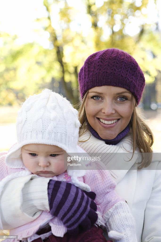 Mother and her child Sweden. : Stock Photo