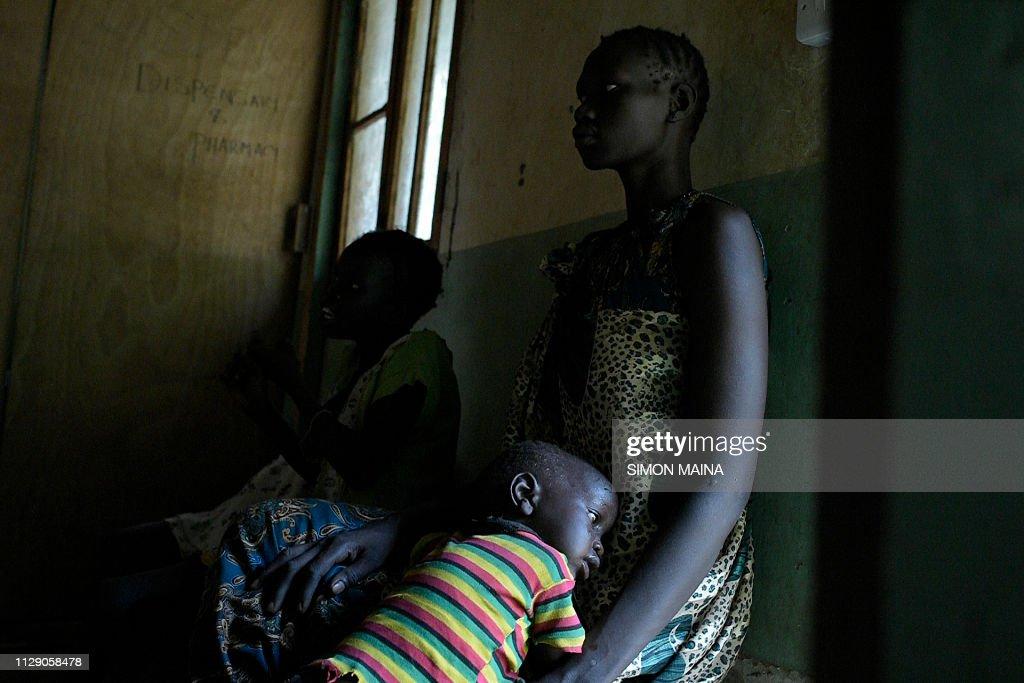 TOPSHOT-SSUDAN-WOMEN-HEALTH : News Photo