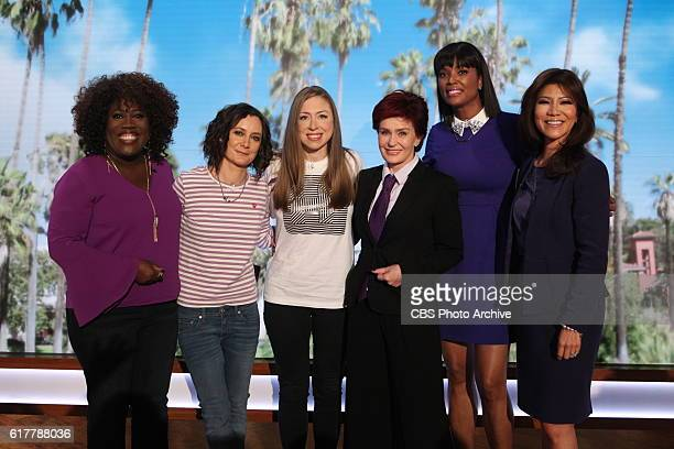 Mother and philanthropist Chelsea Clinton discusses the third and final presidential debate of 2016 on 'The Talk' Thursday October 20 2016 on the CBS...
