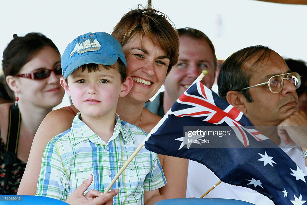 Australia Day Celebrations : News Photo